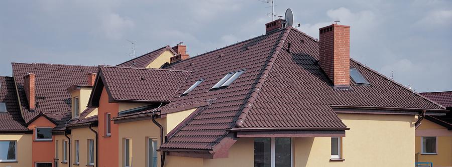 Betoninių čerpių stogas